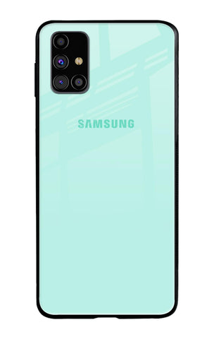 Teal Samsung Galaxy M31s Glass Cases & Covers Online