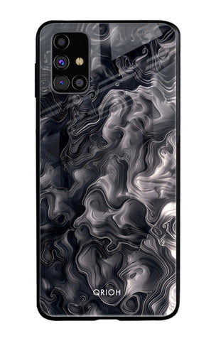 Cryptic Smoke Samsung Galaxy M31s Glass Cases & Covers Online