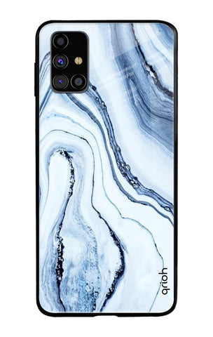 Frozen Ice Samsung Galaxy M31s Glass Cases & Covers Online