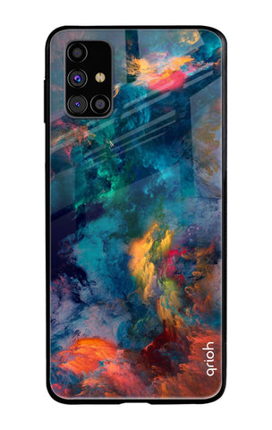 Cloudburst Samsung Galaxy M31s Glass Cases & Covers Online