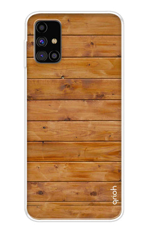 Natural Wood Samsung Galaxy M31s Cases & Covers Online
