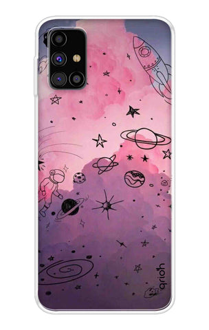 Space Doodles Art Samsung Galaxy M31s Cases & Covers Online