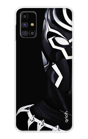 Panther Warrior Case Samsung Galaxy M31s Cases & Covers Online