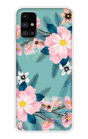 Graceful Floral Case Samsung Galaxy M31s Cases & Covers Online