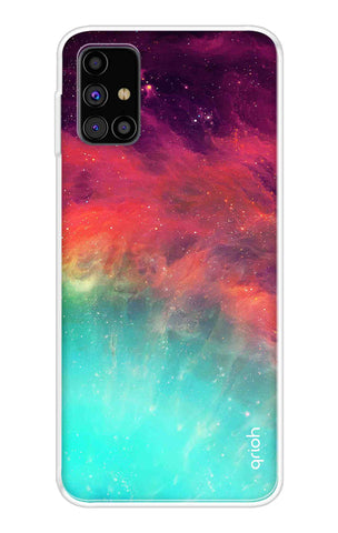 Colorful Aura Case Samsung Galaxy M31s Cases & Covers Online
