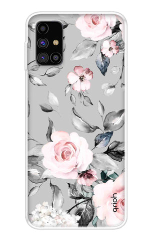 Gloomy Roses Case Samsung Galaxy M31s Cases & Covers Online