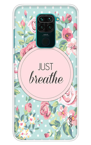 Vintage Just Breathe Redmi Note 9 Cases & Covers Online