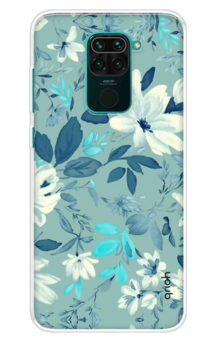 White Lillies Redmi Note 9 Cases & Covers Online