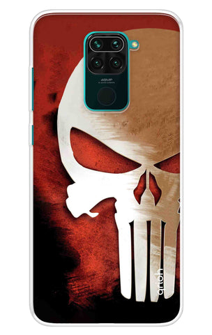 Red Skull Case Redmi Note 9 Cases & Covers Online