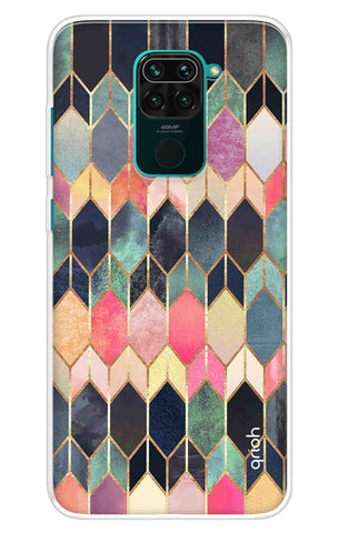 Colorful Brick Pattern Case Redmi Note 9 Cases & Covers Online