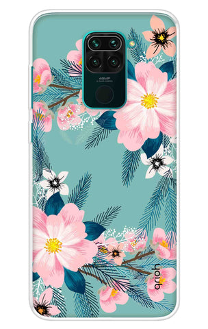 Graceful Floral Case Redmi Note 9 Cases & Covers Online