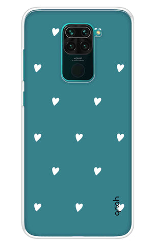 Mini White Hearts Case Redmi Note 9 Cases & Covers Online