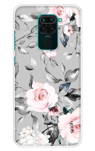 Gloomy Roses Case Redmi Note 9 Cases & Covers Online