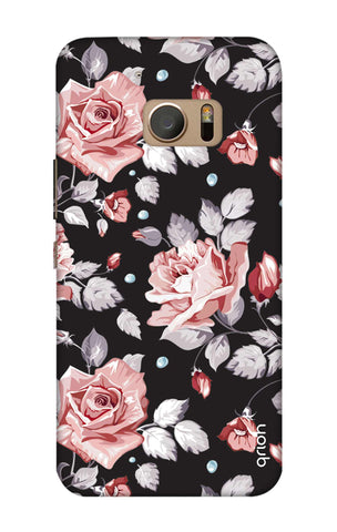 Shabby Chic Floral HTC M10 Cases & Covers Online