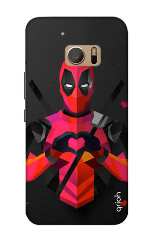Valentine Deadpool HTC M10 Cases & Covers Online