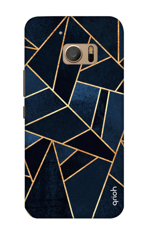 Abstract Navy HTC M10 Cases & Covers Online
