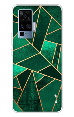 Emerald Tiles Case Vivo X50 Pro Cases & Covers Online