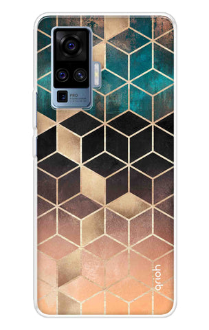 Bronze Texture Case Vivo X50 Pro Cases & Covers Online