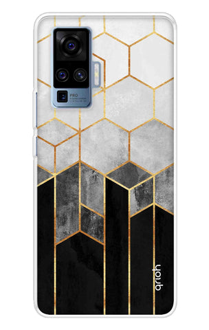 Tricolor Pattern Case Vivo X50 Pro Cases & Covers Online