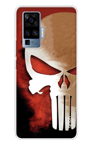 Red Skull Case Vivo X50 Pro Cases & Covers Online