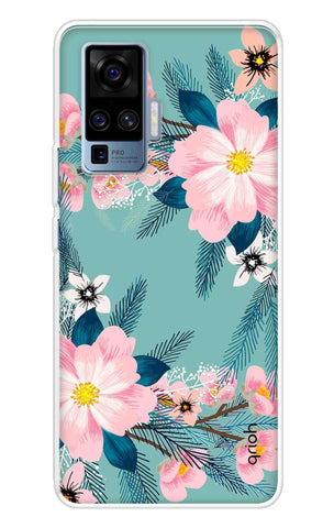 Graceful Floral Case Vivo X50 Pro Cases & Covers Online