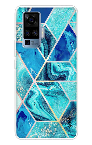 Aquatic Tiles Case Vivo X50 Pro Cases & Covers Online