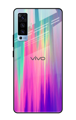 Vibrant Strokes Vivo X50 Glass Cases & Covers Online