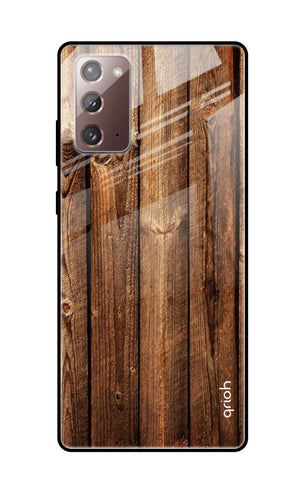 Timber Printed Samsung Galaxy Note 20 Glass Cases & Covers Online