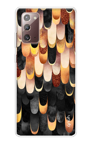 Bronze Abstract Case Samsung Galaxy Note 20 Cases & Covers Online