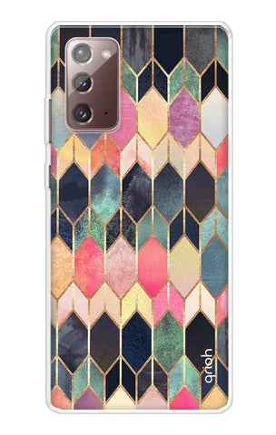 Colorful Brick Pattern Case Samsung Galaxy Note 20 Cases & Covers Online