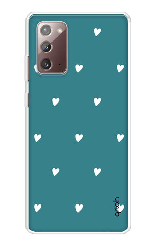 Mini White Hearts Case Samsung Galaxy Note 20 Cases & Covers Online