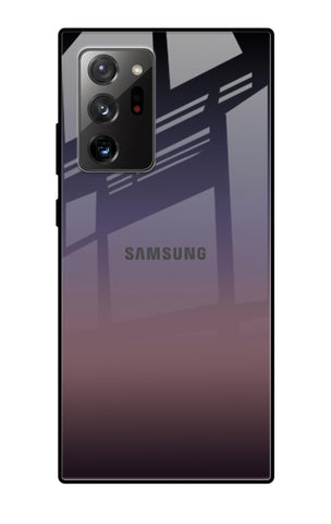 Grey Ombre Samsung Galaxy Note 20 Ultra Glass Cases & Covers Online