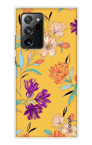 Illustrated Floral Case Samsung Galaxy Note 20 Ultra Cases & Covers Online
