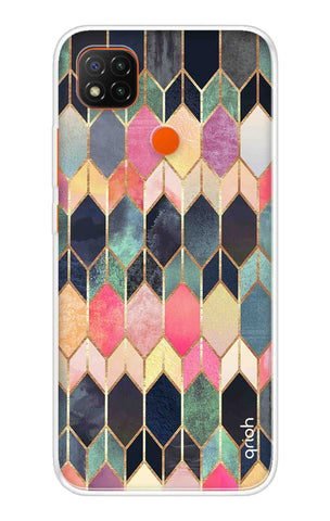 Colorful Brick Pattern Case Redmi 9 Cases & Covers Online