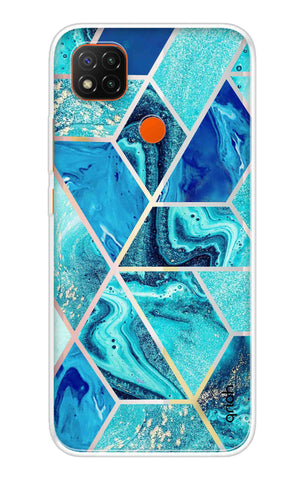 Aquatic Tiles Case Redmi 9 Cases & Covers Online