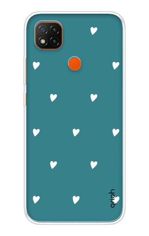 Mini White Hearts Case Redmi 9 Cases & Covers Online