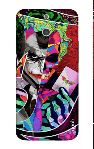 Color Pop Joker HTC E8 Cases & Covers Online