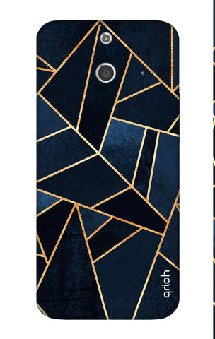 Abstract Navy HTC E8 Cases & Covers Online
