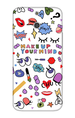 Makeup Your Mind HTC E8 Cases & Covers Online