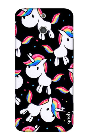 Colourful Unicorn HTC E8 Cases & Covers Online