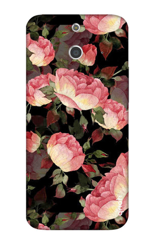 Watercolor Roses HTC E8 Cases & Covers Online