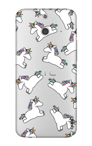 Jumping Unicorns HTC E8 Cases & Covers Online