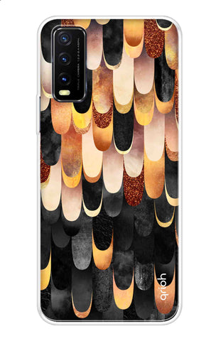 Bronze Abstract Case Vivo Y20 Cases & Covers Online