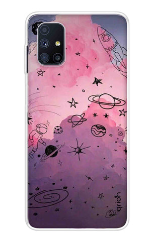 Space Doodles Art Samsung Galaxy M51 Cases & Covers Online