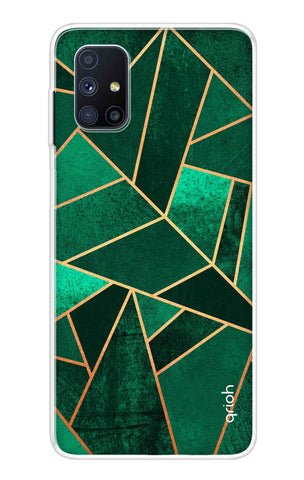 Emerald Tiles Case Samsung Galaxy M51 Cases & Covers Online