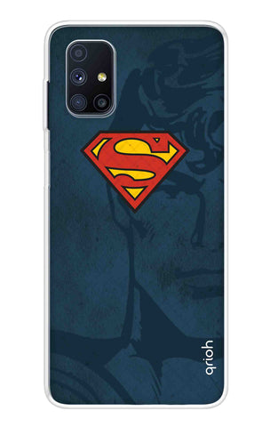 Wild Blue Superman Samsung Galaxy M51 Cases & Covers Online