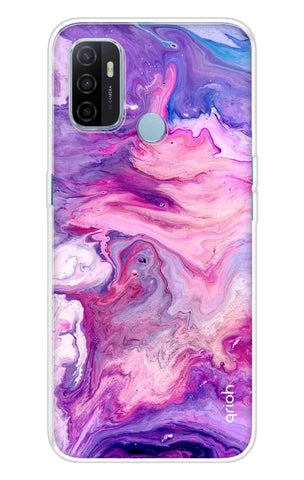 Cosmic Galaxy Case Oppo A53 Cases & Covers Online