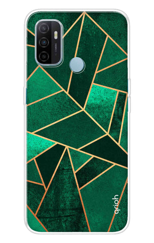 Emerald Tiles Case Oppo A53 Cases & Covers Online
