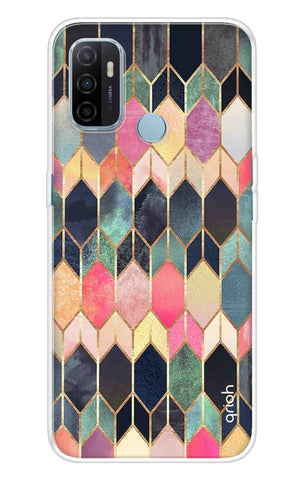Colorful Brick Pattern Case Oppo A53 Cases & Covers Online