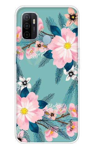 Graceful Floral Case Oppo A53 Cases & Covers Online